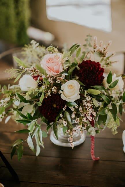 Christy + Dennis | South Lake Tahoe Enchanted Florist