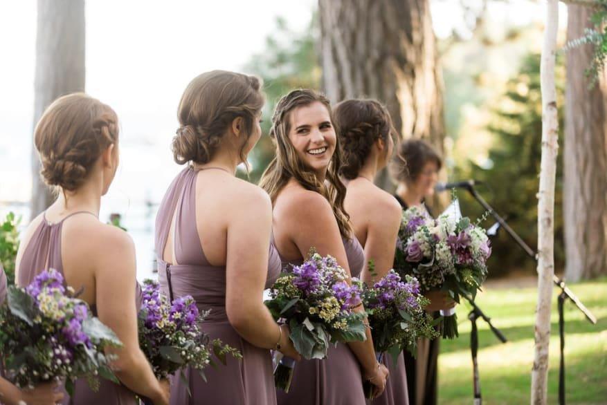 Hannah + Steve | South Lake Tahoe Enchanted Florist