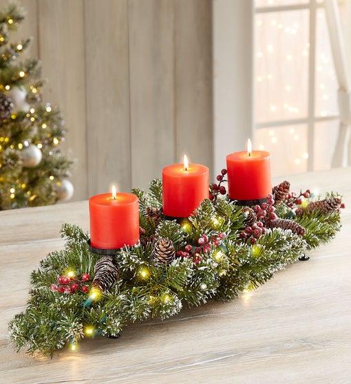 Christmas Lights Centerpiece