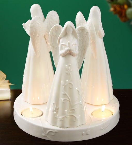 Serene Angel Centerpiece