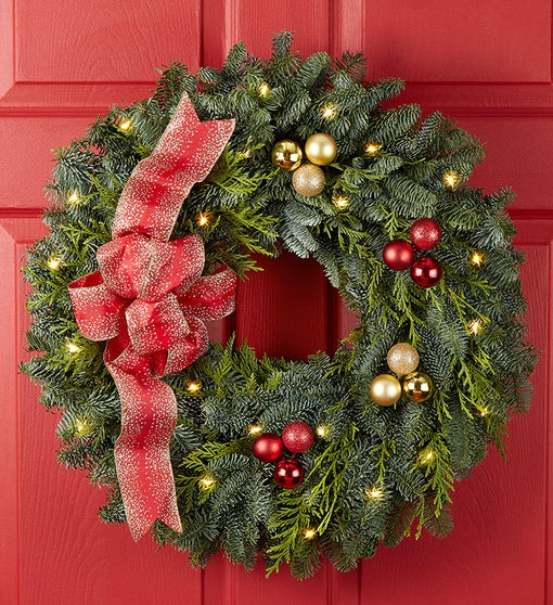 Festive Holiday Wreath
