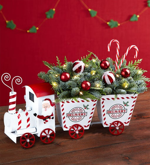 North Pole Delivery Holiday Train