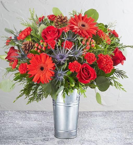 Wild Beauty Holiday Joy Bouquet