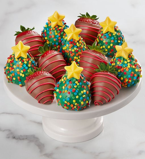 Christmas Tree Strawberries