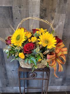 Bountiful Fall Basket