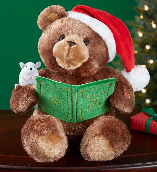 Animated Gund Christmas Storytime Bear