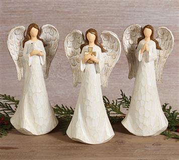 Figurine Carved Angels