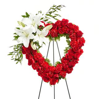 Crosses, Wreaths & Hearts