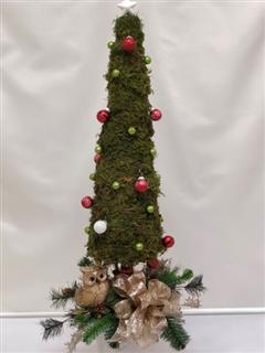 Golden Silk Christmas Tree