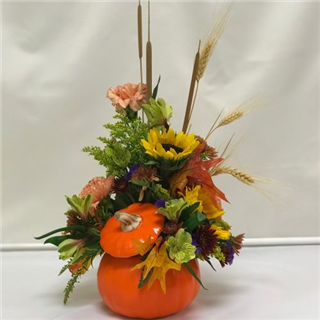 Gloss Orange Fall Pumpkin