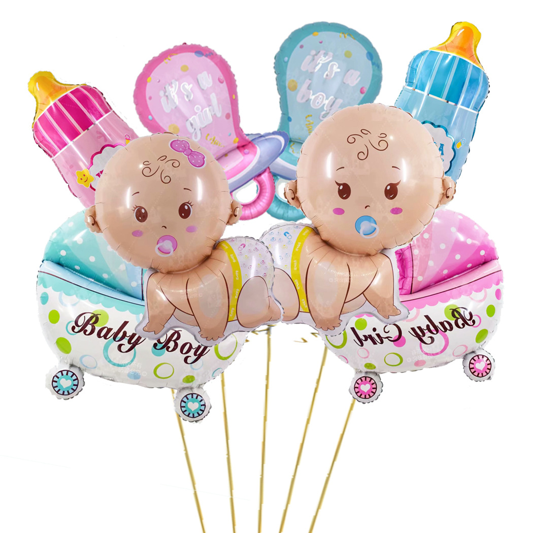 Baby Boy and Girl Balloons