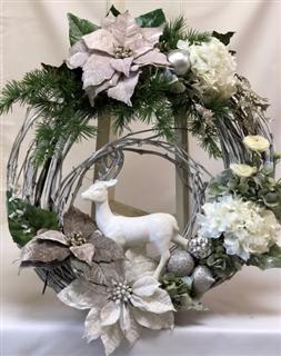 Winter Wonderland Silk Wreath
