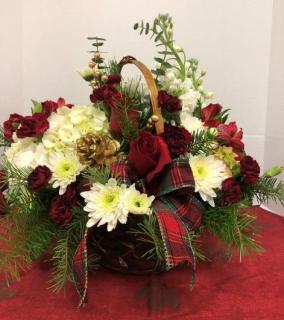 Stylish Holiday Basket