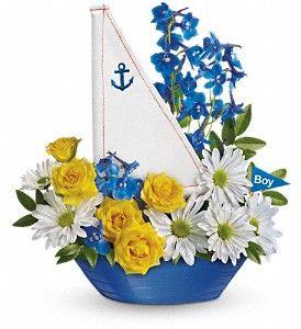 Ahoy It's a Boy! Bouquet