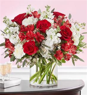 Crimson Rose Bouquet