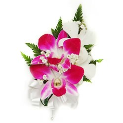 Corsage Pin On - Orchid